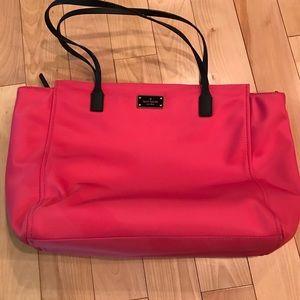 Kate Spade  ♠️ Pink Tote EUC